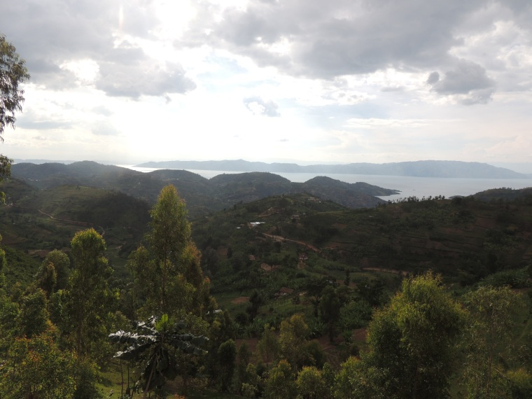 My visit to Rwanda was incredible. This is a view of Lake Kivu.
