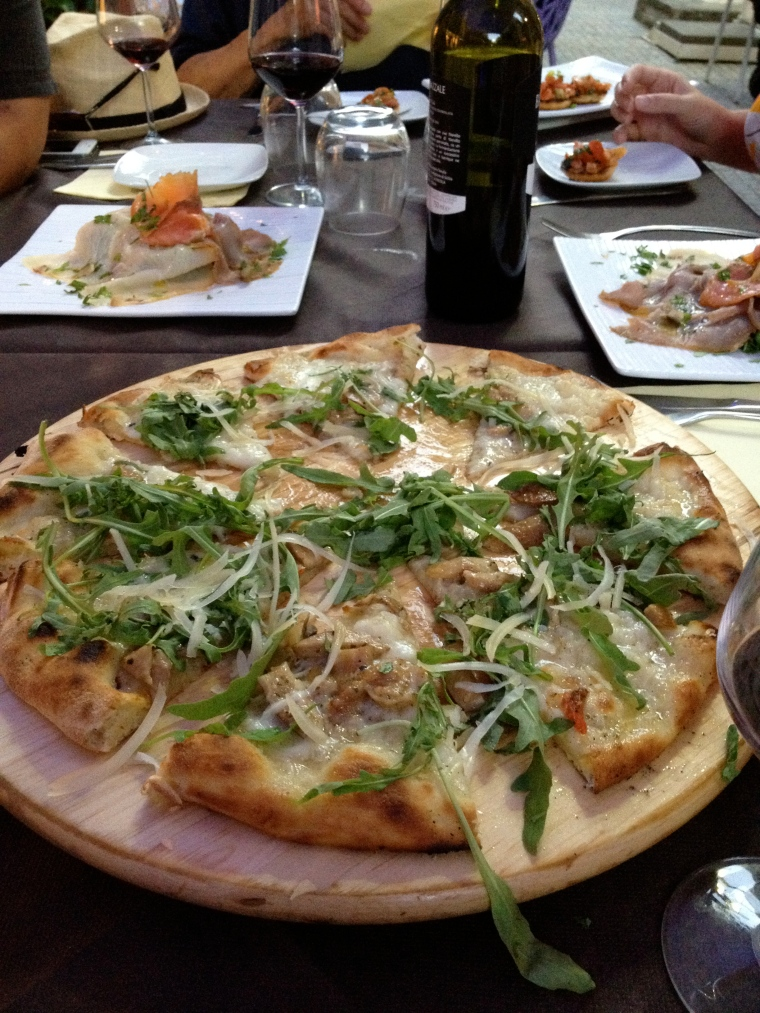 Some of the best pizza I've had was in Palermo, southern Italy. The Sicilians really know how to make delicious thin, flavorful crust.